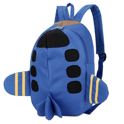 Kids Children Boy Casual Outing Cool Korean Aeroplane Students Backpack
