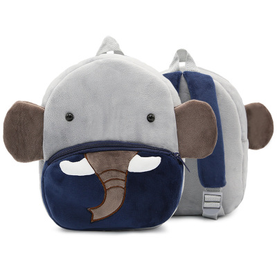 Kids Children Boy Casual Outing Cool Korean Elephant Doll Students Backpack
