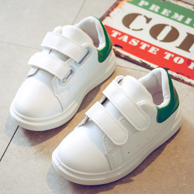 Kids Children Boy Cool Simple Classic White Sports Running Casual Outing Shoes
