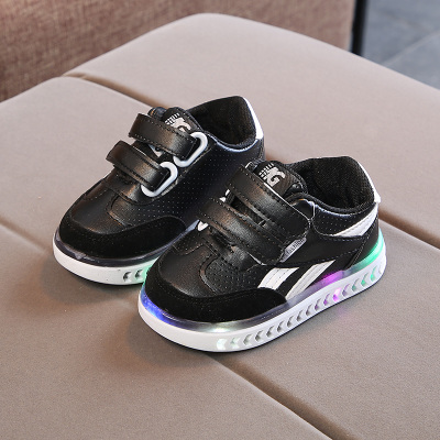 Kids Children Boy Cool LED Sole Arrow Sports Running Casual Outing Shoes