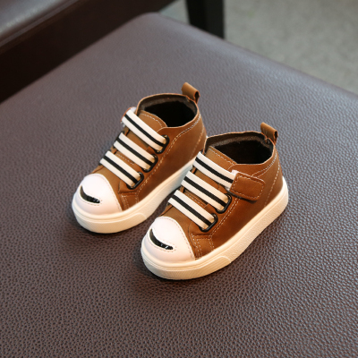 Kids Children Boy Cool Canvas High Cut Sneakers Casual Outing Shoes