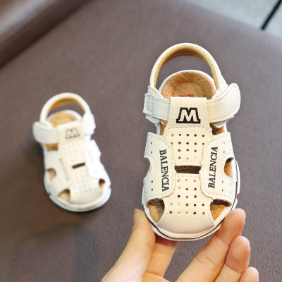 Kids Children Boy Cool PU Leather Sandals Casual Outing Shoes