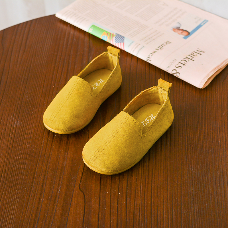 Kids Children Girl Autumn Soft Bottom Princess Round Head Shoes
