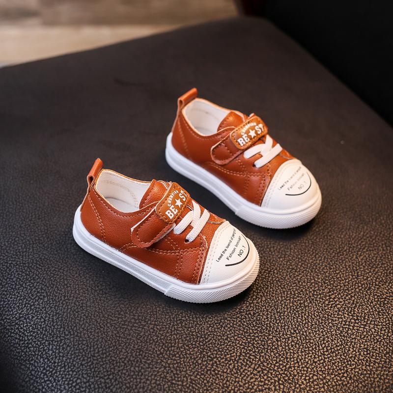 Kids Children Boy Toddler Soft Bottom Baby Warm Sports Cotton Shoes