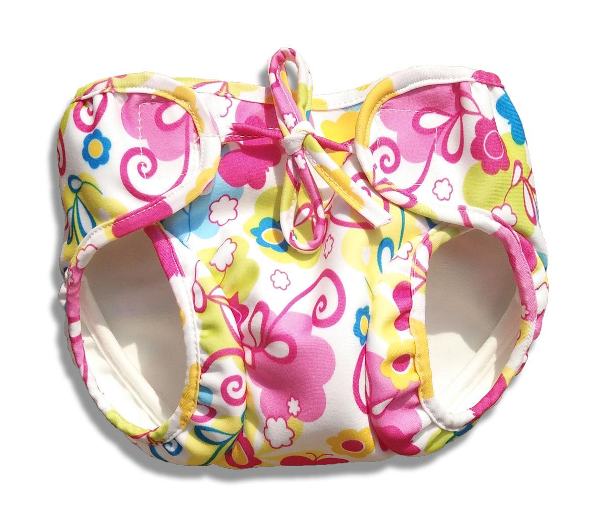 Baby Girls Leak-Proof Urine Waterproof Special Pants Swimsuit