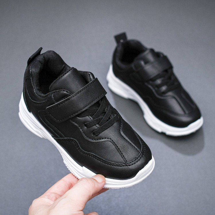 Kids Children Boy Primary School Sneaker Waterproof Non-Slip Shoes