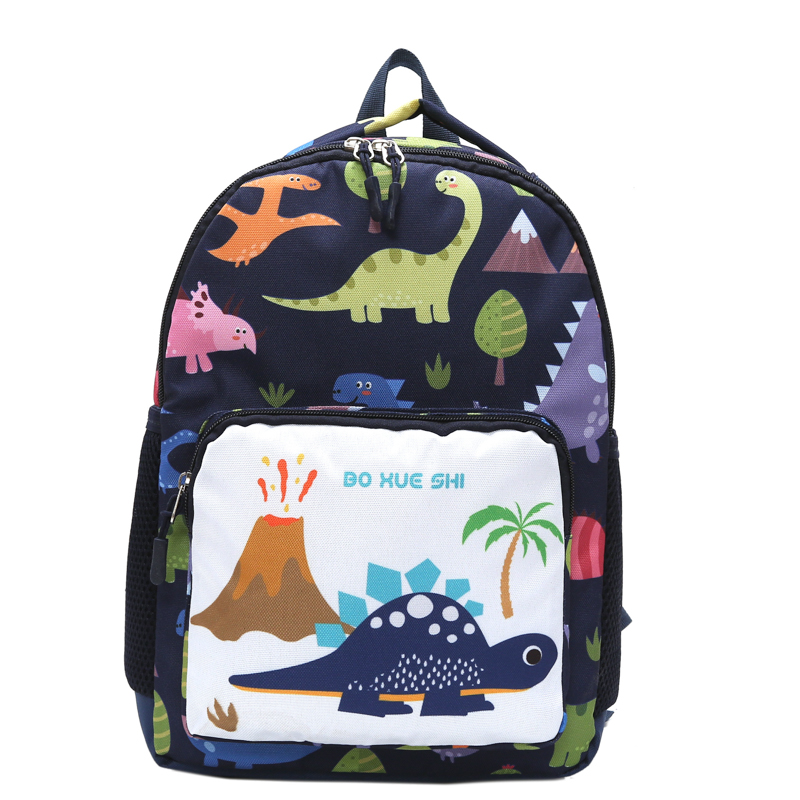 Kids Children Boy Kindergarten School Anti-Lost Backpack Shoulder Bag