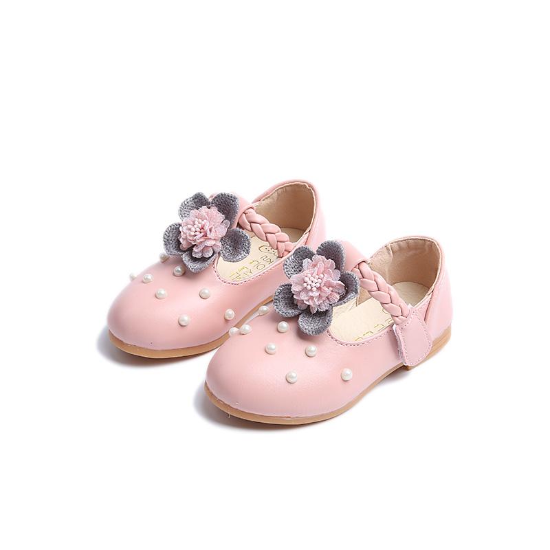 Kids Girls Shoes Baby Girls Non-slip Soft Bottom Princess New Little Kids Shoes