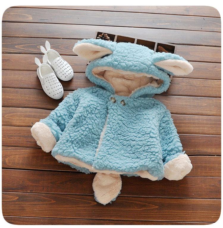 Baby Winter Wear Winter Coat Cotton Jacket Thickening Baby Clothing Winter Wear