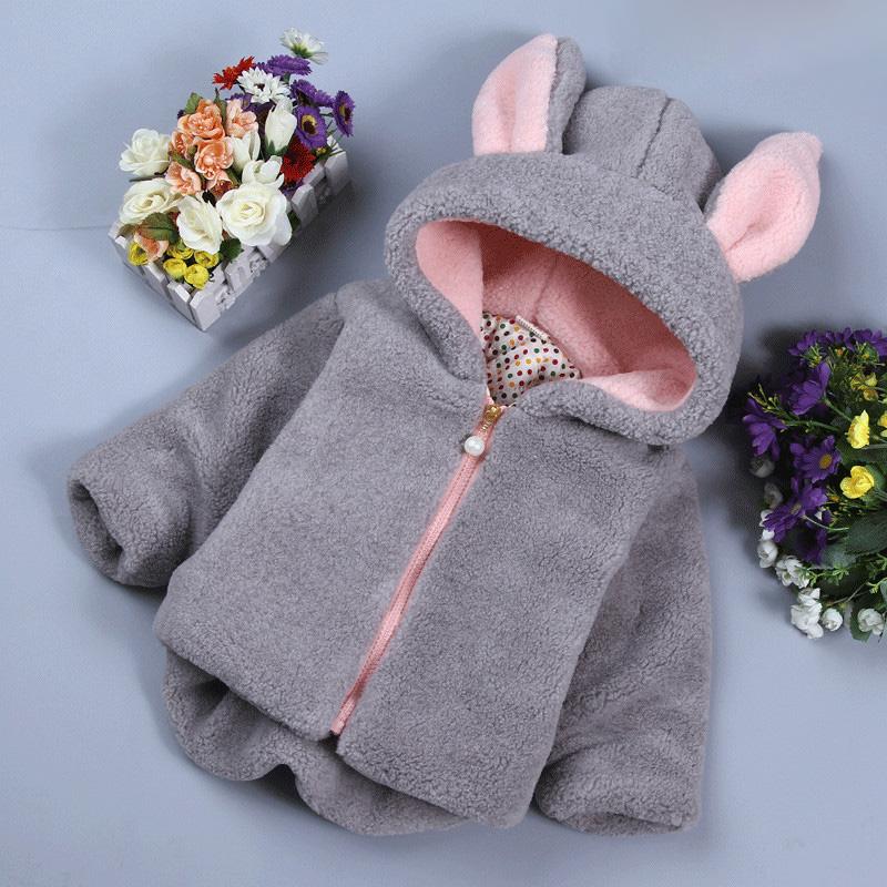 Baby Winter Girl Cotton Winter Sweater Coat Fur Jacket Baby Clothing Winter Wear