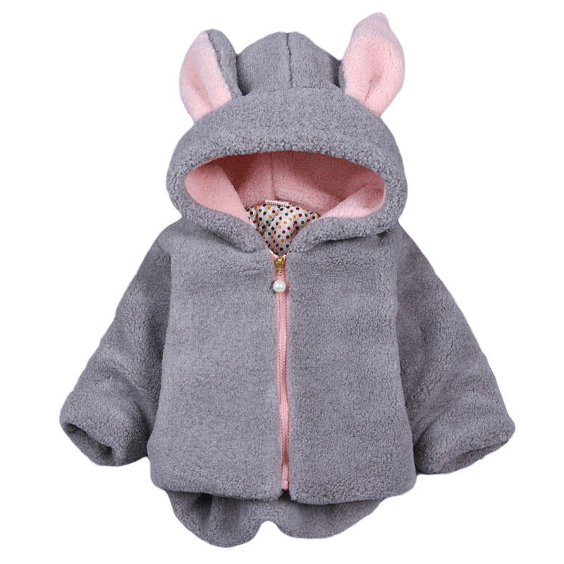 Baby Winter Girl Cotton Winter Sweater Coat Fur Jacket Baby Clothing Winter Wear
