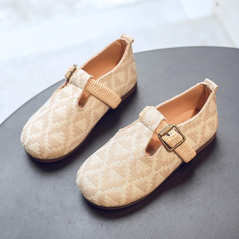 Kids Girls Shoes Children's Princess Cute Flats Sandals New Korean Summer Shoes
