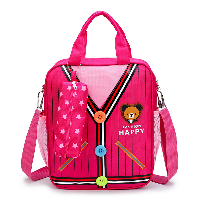 Kids Boys Bag Primary School Children Male Colorful Anime Style Student Shoulder