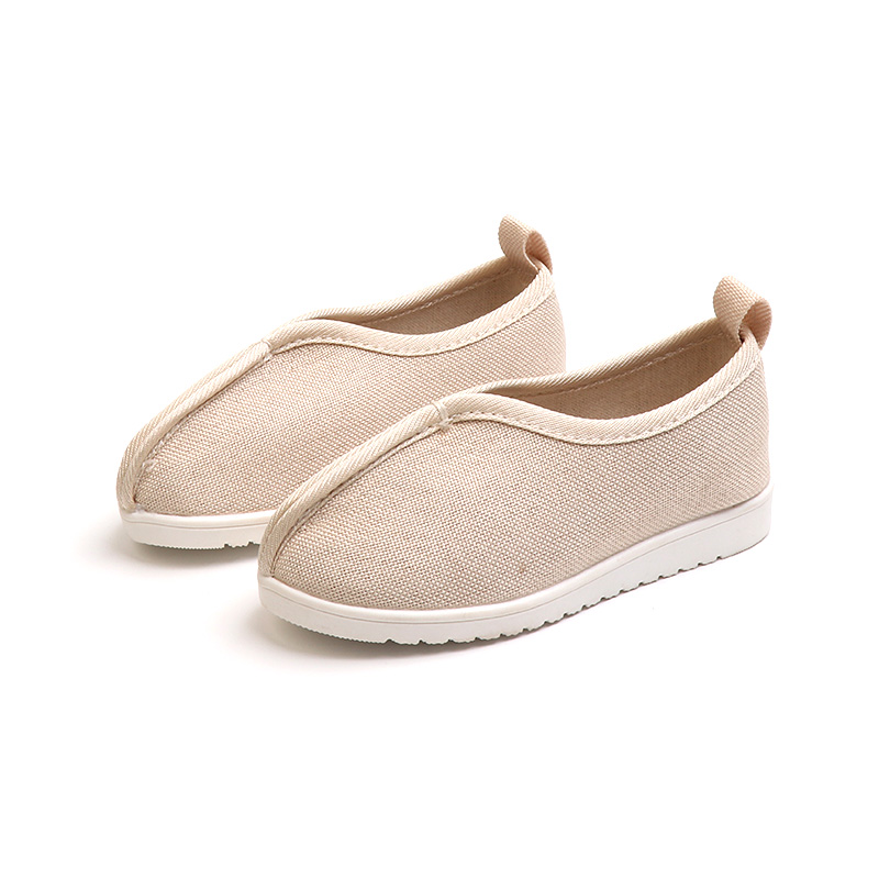 Kids Boys Shoes Canvas Comfortable Cotton Children's Sneakers Autumn and Spring