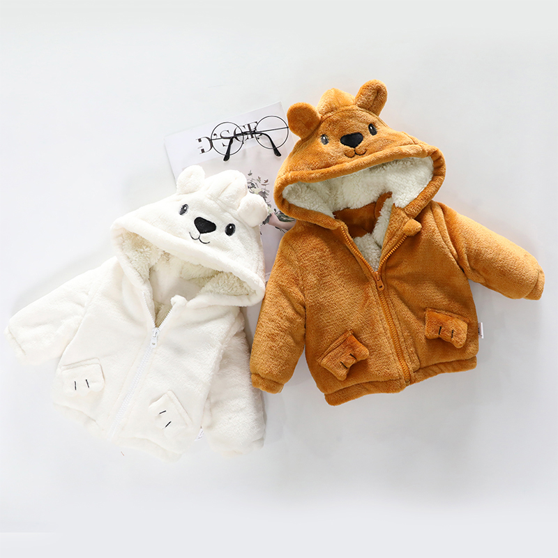 Baby Clothing Winter Wear Cotton Jacket Children's Thick Winter Outfits Clothes