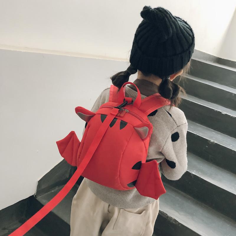 Kids Boys Bag Little Male Anti-Lost Mini Backpack Children's Cute School Travel