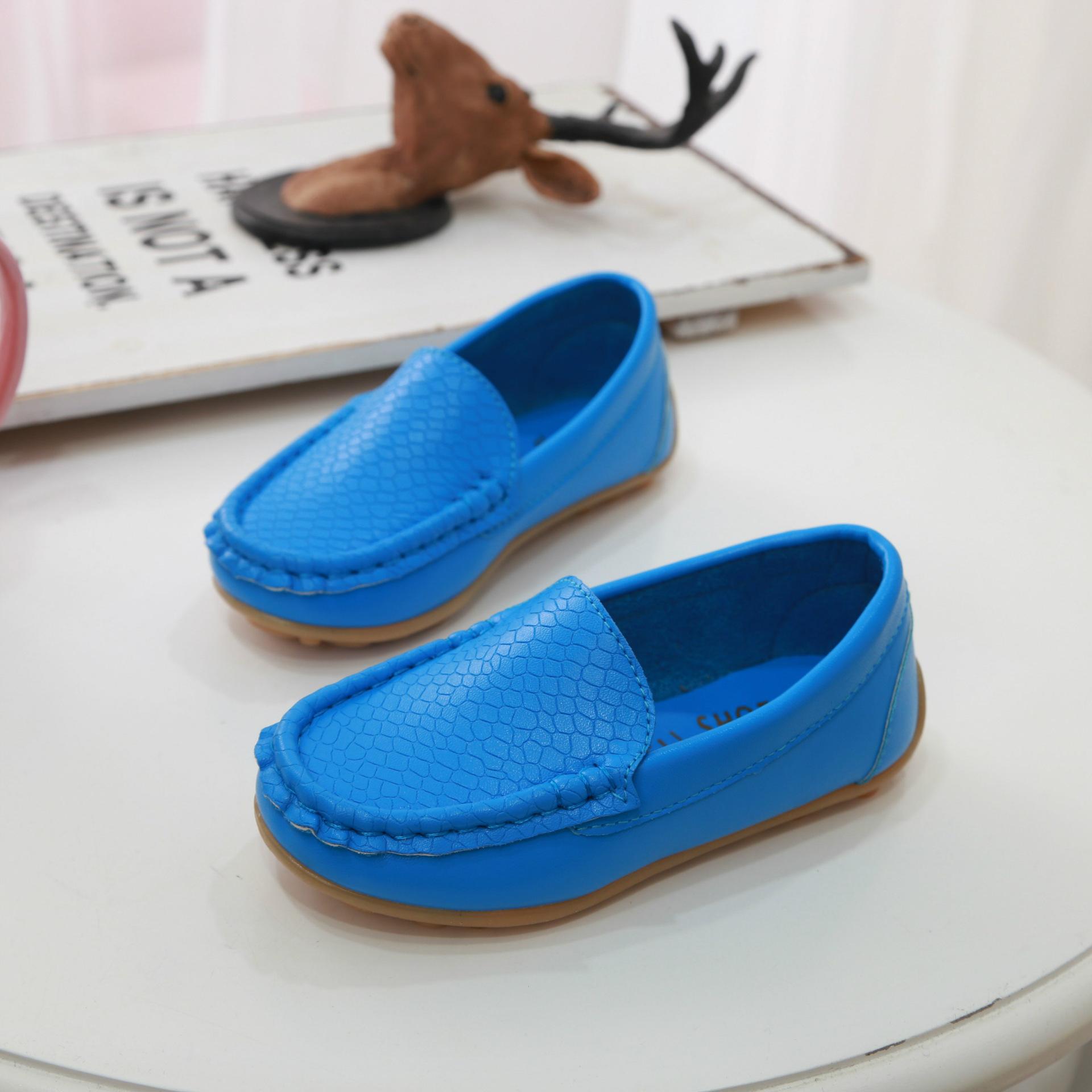 Kids Girls Shoes Peas Soft Bottoms Moccasins Tide Children's Comfortable Flats