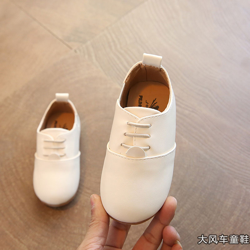 Kids Boys Shoes Rubber Casual Male Children Korean Style Fashion Elegant Flats
