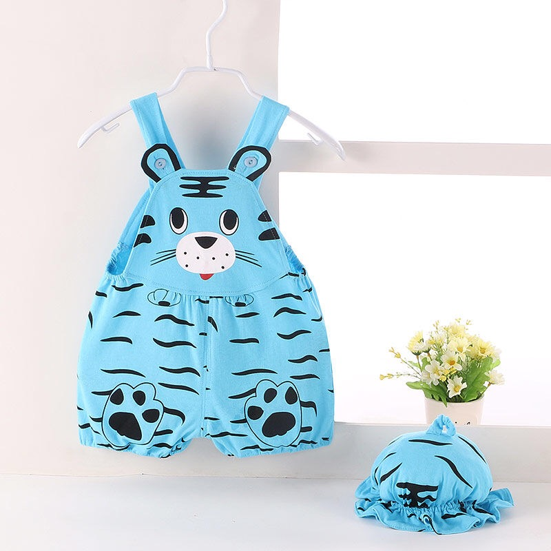 Baby Clothing Set Dress Summer Outfits Cute Jumpsuit Style Attire Cotton Clothes