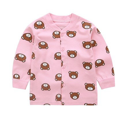 Baby Clothing Tops Children\'s Cute Summer Top Spring Shirts Long Sleeve Cardigan