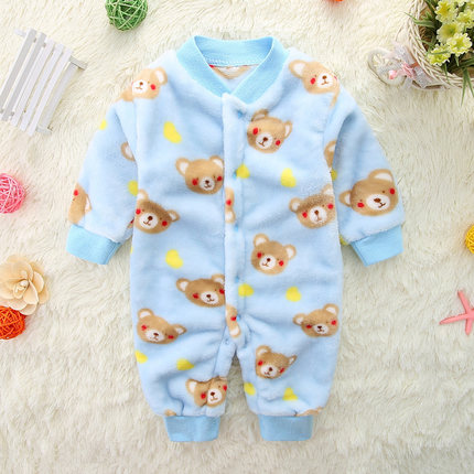 Baby Clothing Winter Wear Warm Clothes Newborn Children\'s Coat Thick Cute Jacket