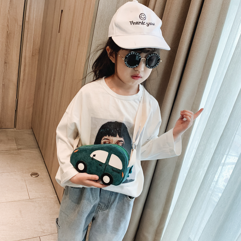 Kids Boys Bags Cute Cotton Shoulder Sling Children's Messenger Casual Belt Bag