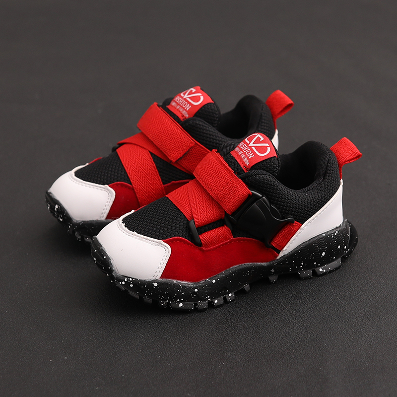 Kids Boys Shoes Children's Nice Comfortable Soft Sole Sneakers Travel Foot Wear