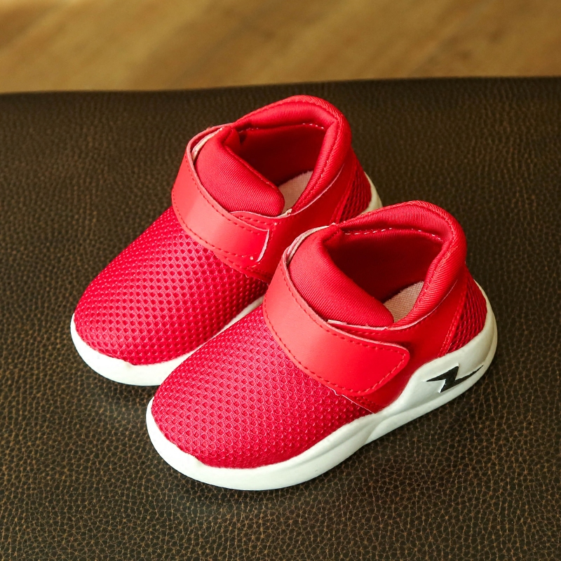Kids Boys Shoes Children's Sports Mesh Casual Breathable Male Rubber Sneakers