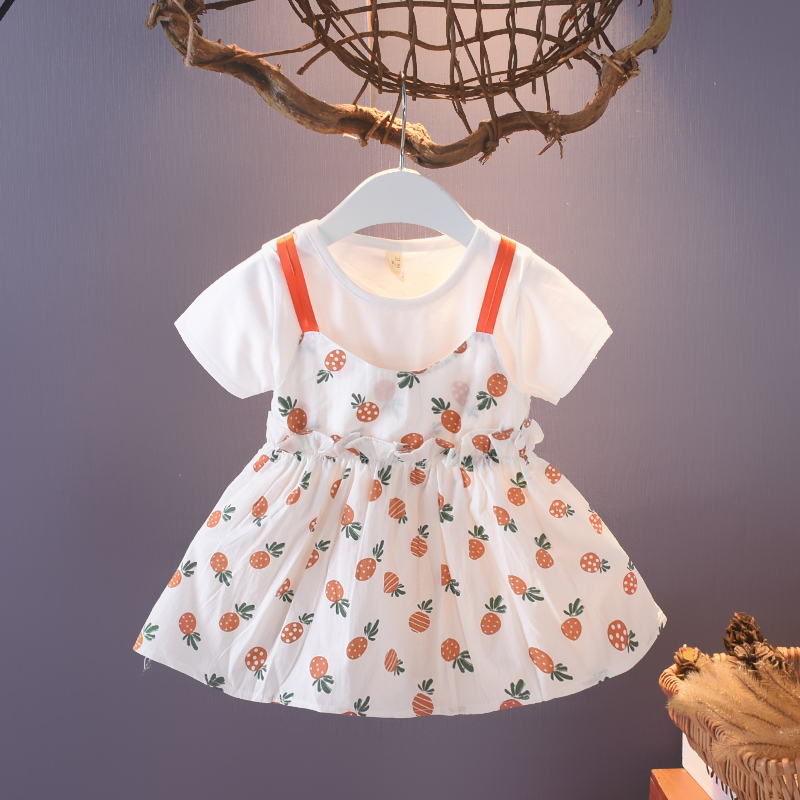 Baby Clothing Set Dress Newborn Comfortable Cotton Wear Summer Outfits