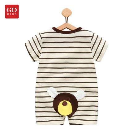 Baby Clothing Set Dress Romper Newborn Cotton Jumpsuit Summer Stripes Outwear