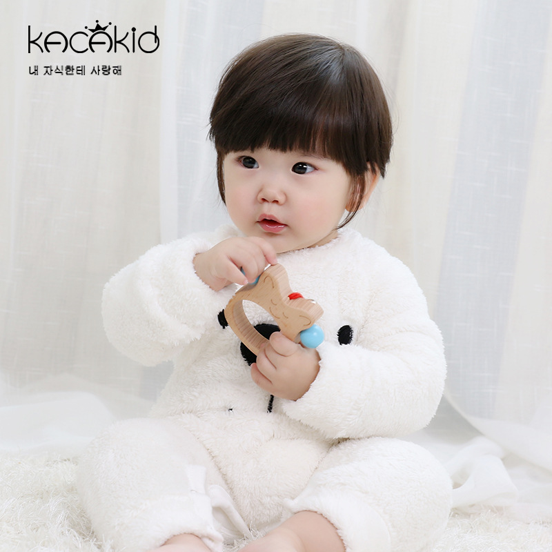 Baby Clothing Winter Wear Clothes Warm Pajamas One Piece Jumpsuit Cotton