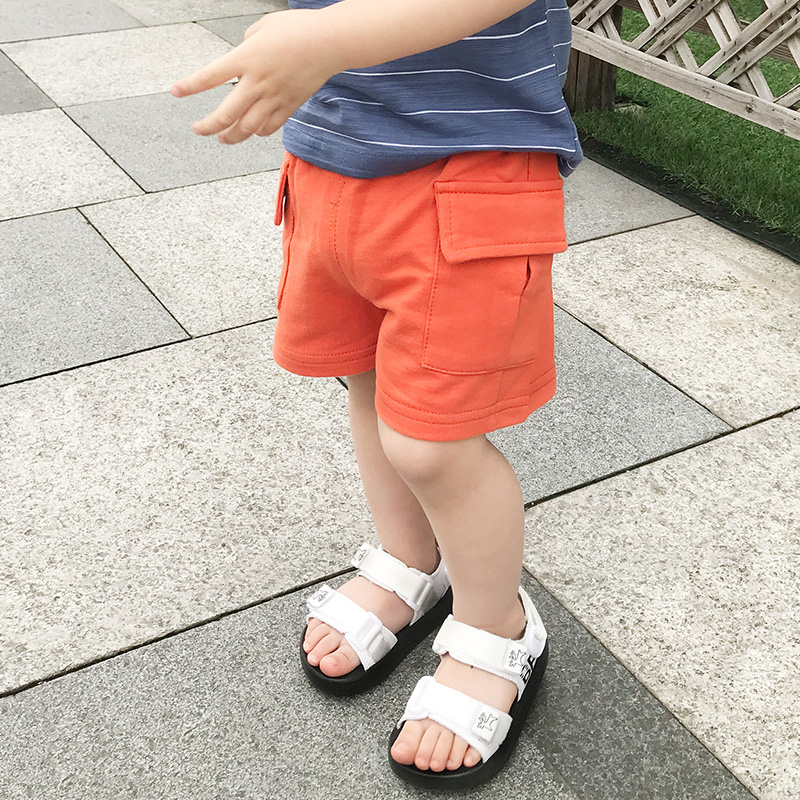 Kids Clothing Boys Bottoms Colorful Cotton Summer Short Pants Outwear Outfits