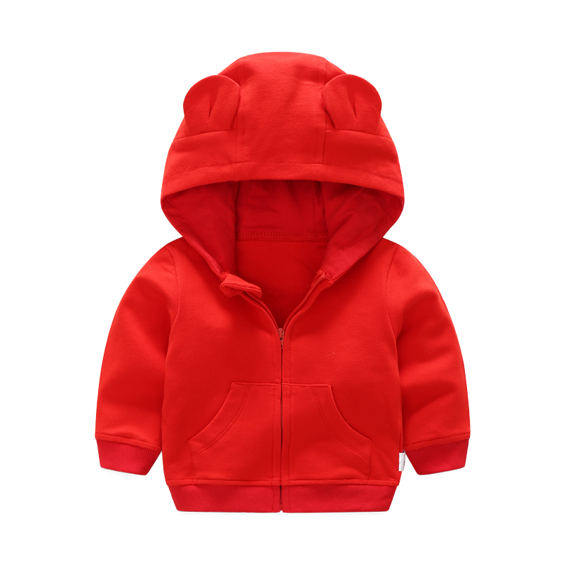 Baby Clothing Tops Girls Hooded Jacket Autumn Children\'s Cotton Clothes Shirts