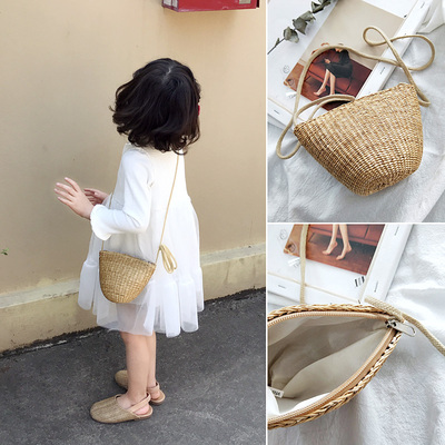 Kids Bags Girls Shoulder Handbag New Cute Pouch Summer Sling Children's Mini Bags