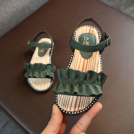 Kids Shoes Girls Spring Little Children Summer Casual New Korean Style Open Toe