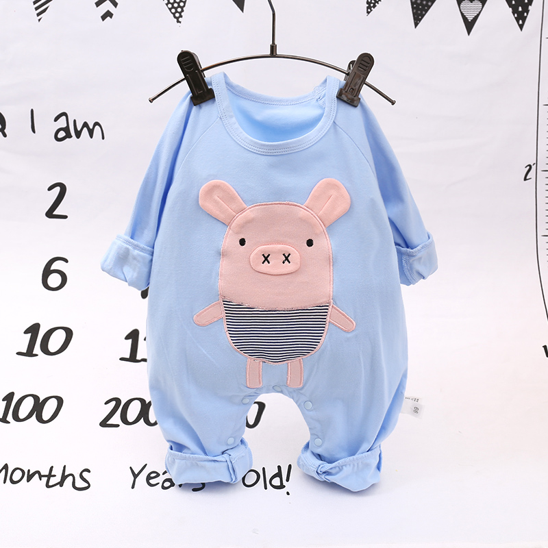 Baby Clothing Sleepwear Cotton Comfortable Cartoon Newborn Night Wear Outfits