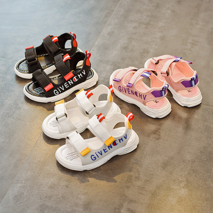 Kids Shoes Girls Summer Flats Sandals Female Sporty Children\'s Cute Footwear