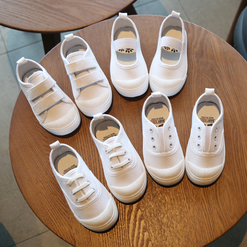 Kids Shoes Boys Spring Autumn Children's Canvas Soft Bottom Sneakers Footwear