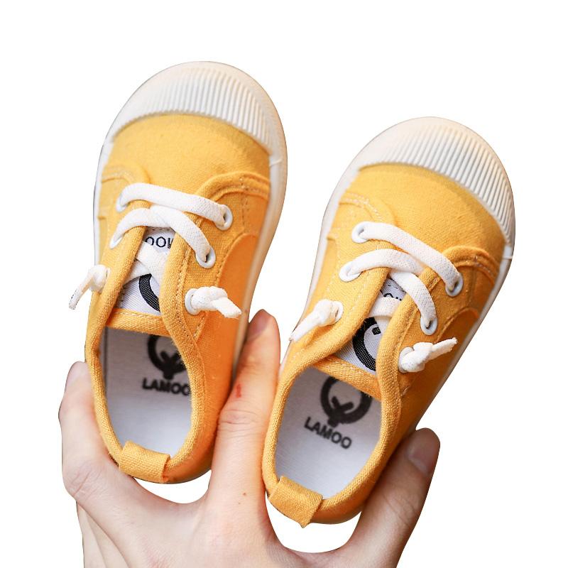 Kids Shoes Boys Male Flats Rubber Soft Sole Sneakers Children\'s Outwear
