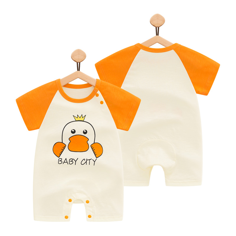 Baby Clothing Sleepwear Newborn Soft Cotton Pajamas Romper Thin Fabric Onesies