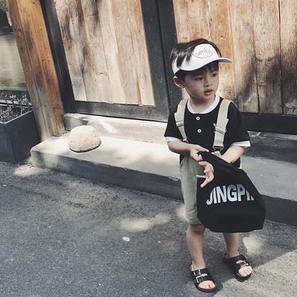 Kids Clothing Boys Sets Summer Cotton Jumpsuit Denim Children\'s New Cute Outfits