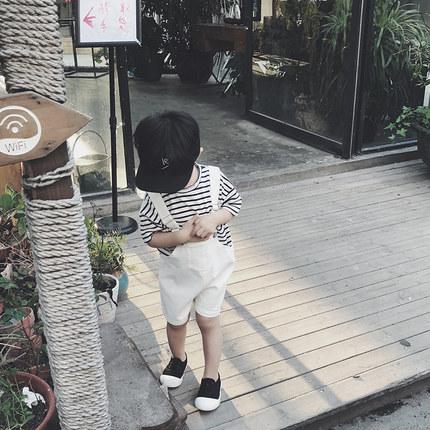 Kids Clothing Boys Sets Summer Cotton Jumpsuit Denim Children's New Cute Outfits