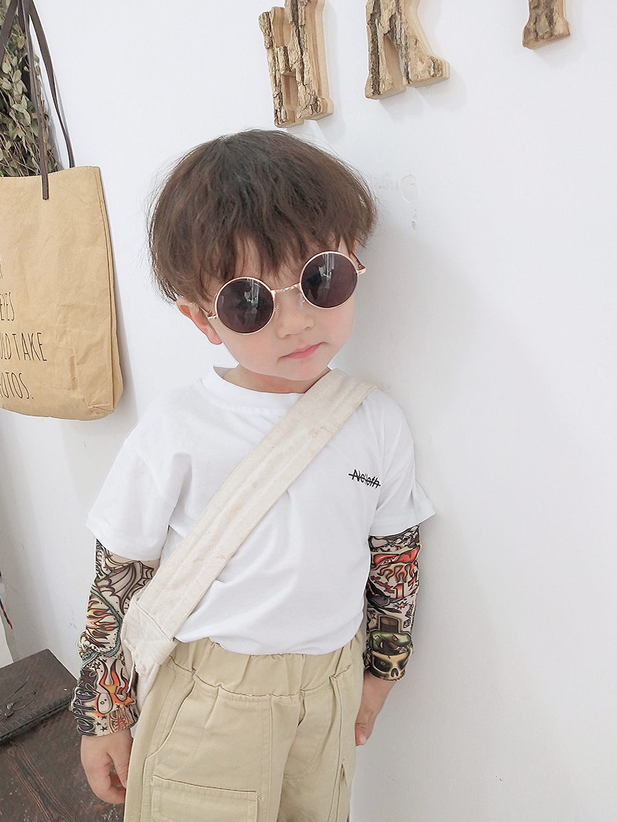 Kids Clothing Boys Tops Cotton Soft Long - Sleeved T- Shirts Male Outfits Tide