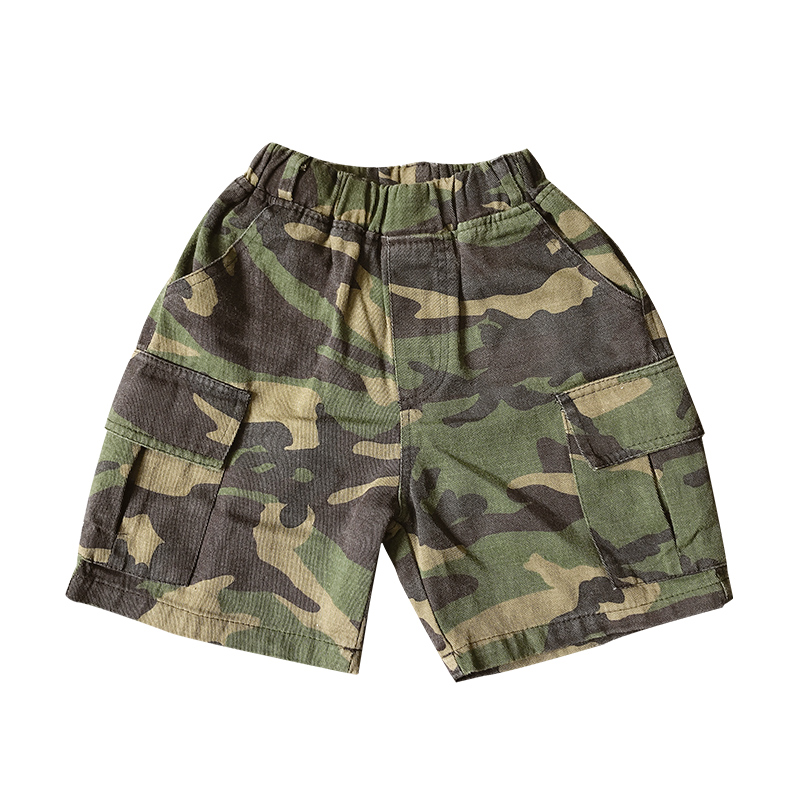 Kids Clothing Boys Bottoms Shorts Children's Clothing Camouflage Clothes Pants