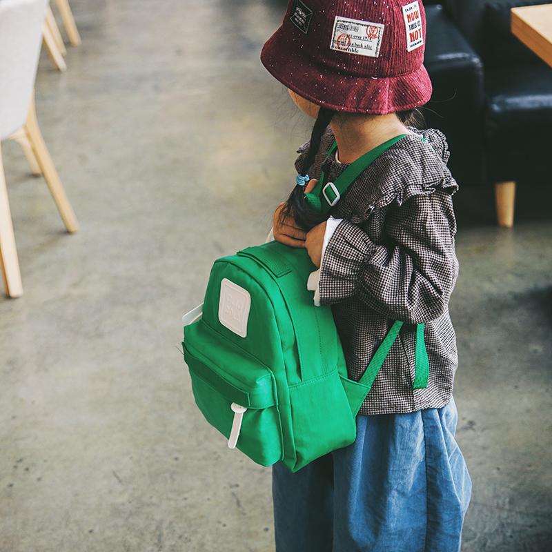 Kids Bags Girls Canvas Mini School Backpack Kindergarten Travel Cute Bags