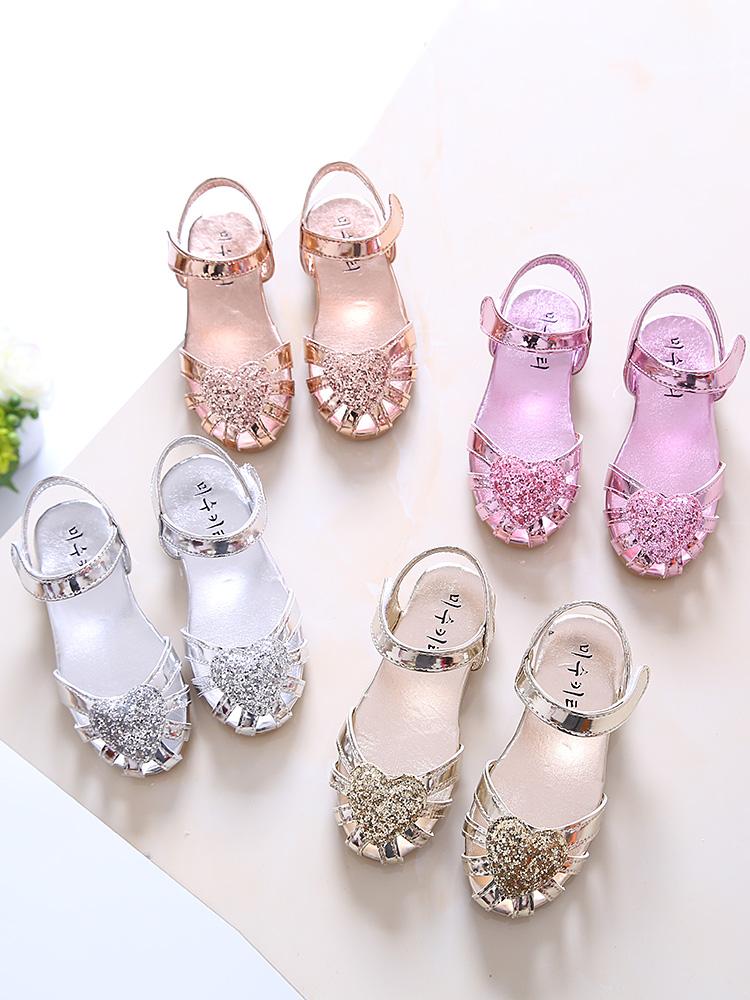 Kids Shoes Girls Flats Doll Children\'s Female Soft Bottom Casual Princess New