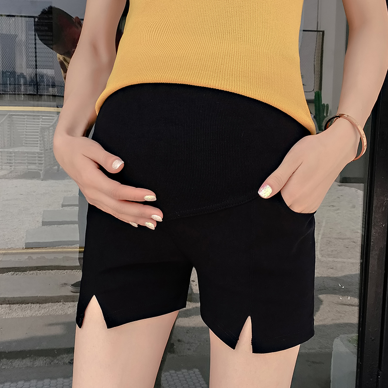 Maternity Clothing Shorts Cotton Summer Casual Stomach Lift Pregnancy Women Wear