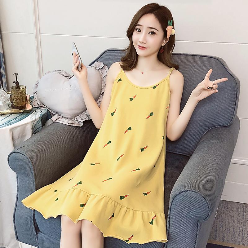 Maternity Clothing Nursing Wear Pregnant Women Loose Dress Cute Cotton Soft Wear