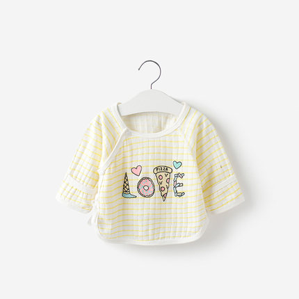 Baby Clothing Tops Loose Cotton Short Sleeved Blouse Summer Tide New Outwear