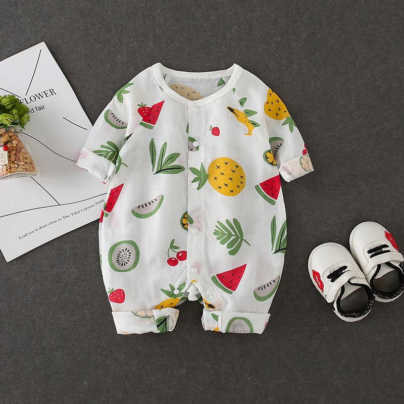 Baby Clothing Sleepwear Newborn Printed Onesies Jumpsuit Cotton Romper Clothes